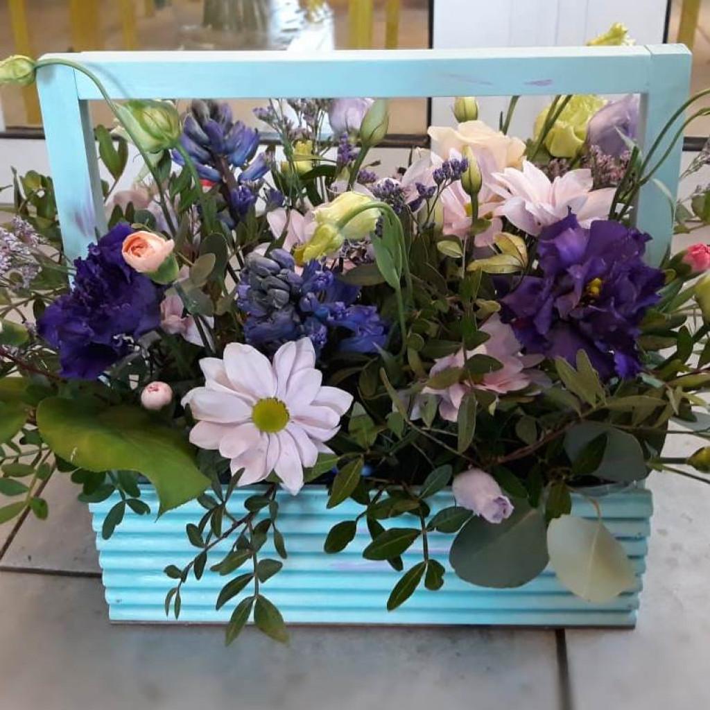 Ящик с цветами «Прованс»
