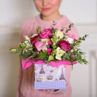 Коробка с цветами «Для любимой»