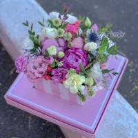 """Цветы в коробке """"Летняя встреча"""""""
