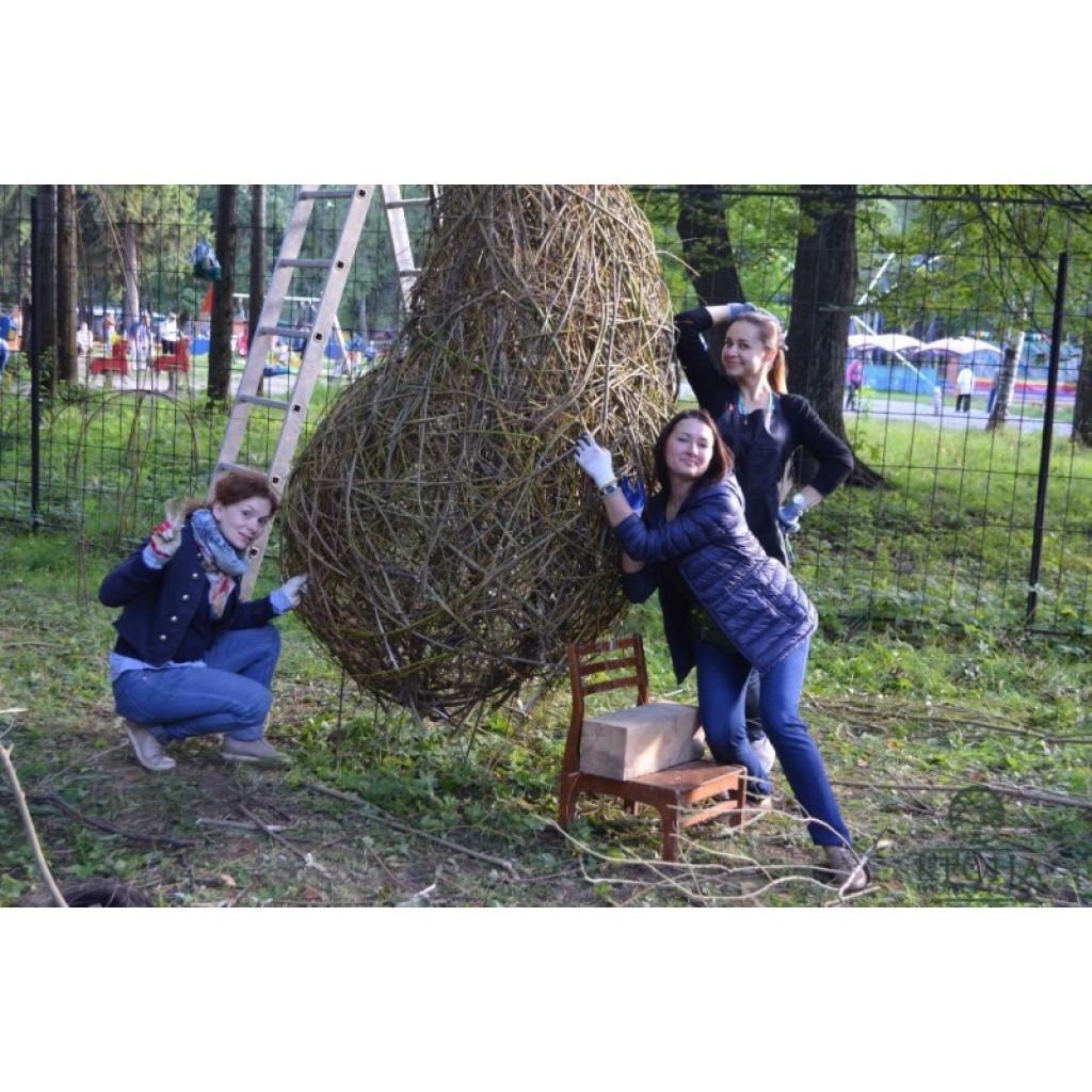 """В.Казанского """"Искусство ЛэндАрт"""" август 2015 года"""