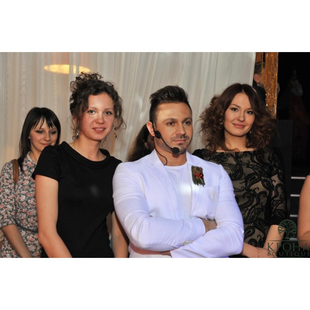 Новогодняя феерия от Славы Роска декабрь 2012 года