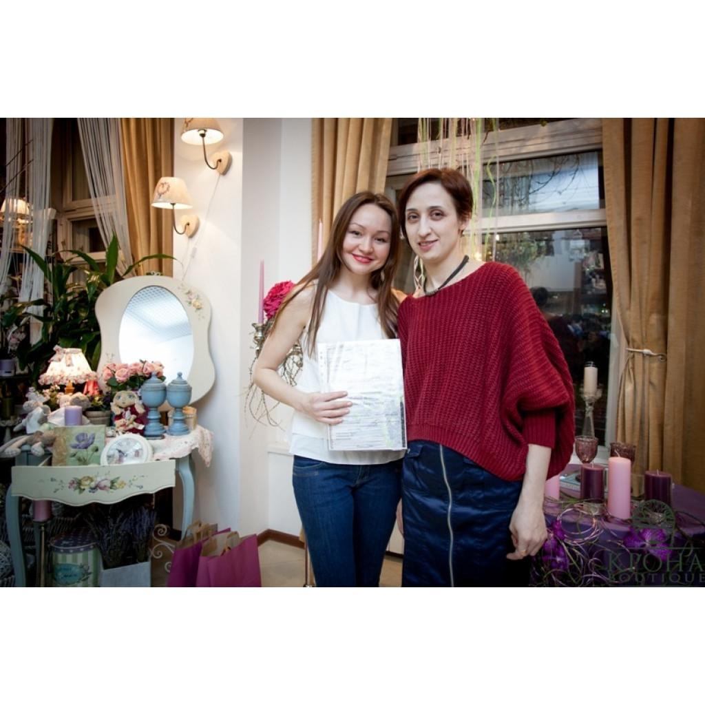 """""""Модные тенденции свадебной флористики"""" март 2014"""