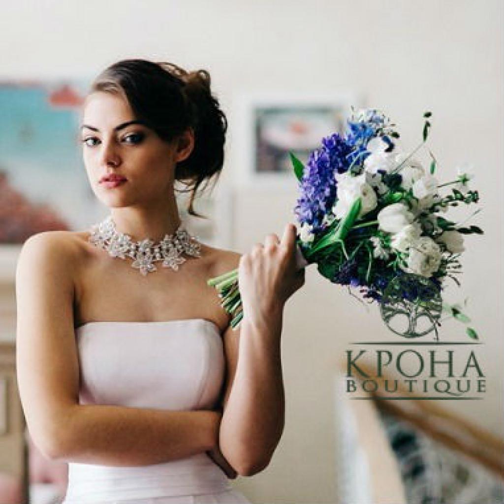 Букет «Индиго» на свадьбу - очарование и элегантность
